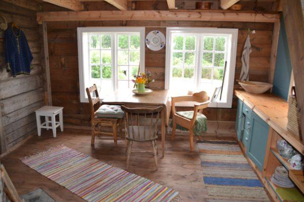 kjøkkenet i gamlehuset