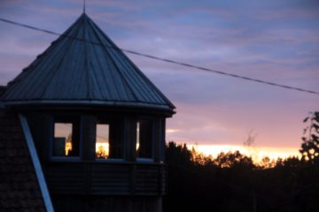 Tårnet i kveldslys